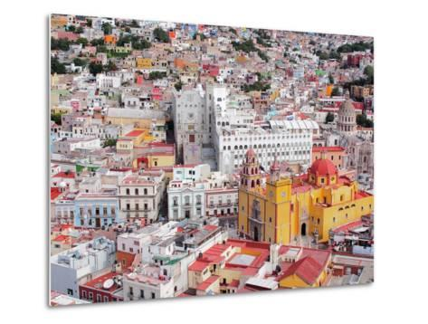 16Th Century Colonial Buildings in the Valley of Guanajuato in Central Mexico, World Heritage Site- Takamex-Metal Print
