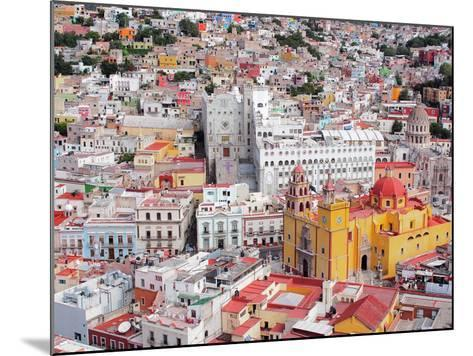 16Th Century Colonial Buildings in the Valley of Guanajuato in Central Mexico, World Heritage Site- Takamex-Mounted Photographic Print
