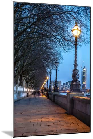 Walk along the Thames in London-arturasker-Mounted Photographic Print
