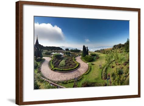 Doi Inthanon National Park Panorama in Chiang Mai, Thailand-Banana Republic images-Framed Art Print