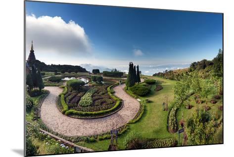 Doi Inthanon National Park Panorama in Chiang Mai, Thailand-Banana Republic images-Mounted Photographic Print