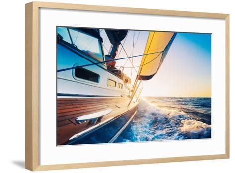 Sailing into the Sunset-EpicStockMedia-Framed Art Print