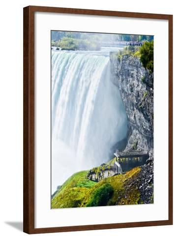 Horseshoe Fall, Niagara Falls, Ontario, Canada- Javen-Framed Art Print