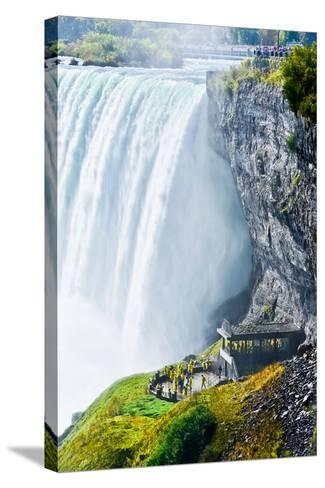 Horseshoe Fall, Niagara Falls, Ontario, Canada- Javen-Stretched Canvas Print