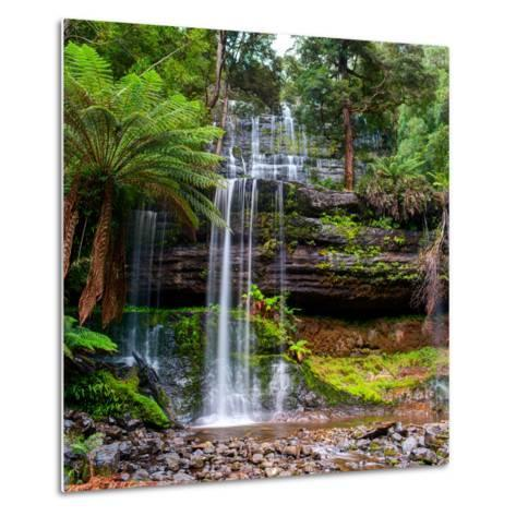 The Russell Falls, a Tiered Cascade Waterfall on the Russell Falls Creek, is Located in the Central-Yevgen Belich-Metal Print