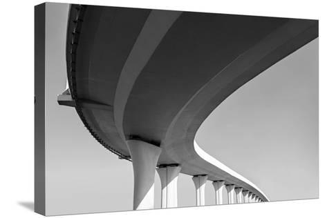 Underside of an Elevated Roads-Gubin Yury-Stretched Canvas Print