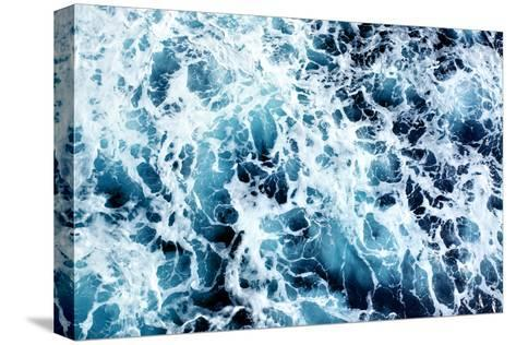 Ocean Water Abstract Background-Roman Sigaev-Stretched Canvas Print