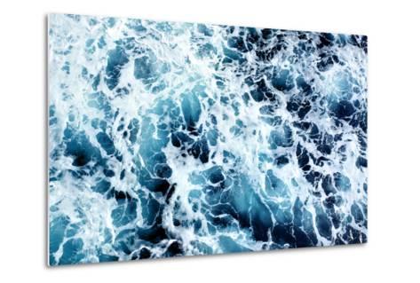 Ocean Water Abstract Background-Roman Sigaev-Metal Print