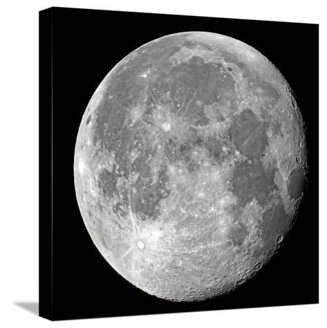 Carolina Moon-Edd Lange-Stretched Canvas Print