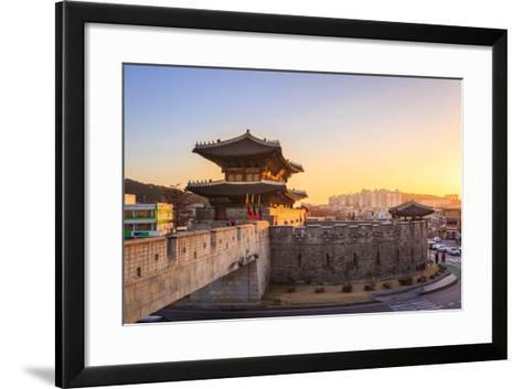 Hwaseong Fortress, Traditional Architecture of Korea in Suwon, South Korea- PKphotograph-Framed Art Print