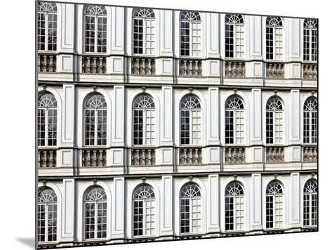 Architecture and Windows of Ancient Renaissance Style Classical Building-Protasov AN-Mounted Photographic Print