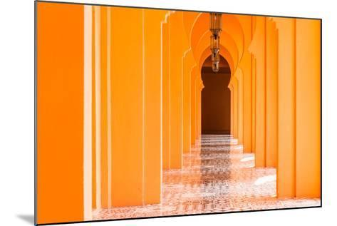 Architecture Morocco Style - Vintage Effect Pictures-Stockforlife-Mounted Photographic Print