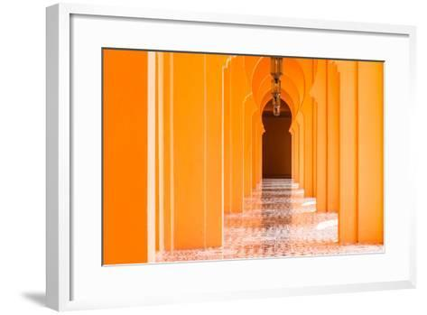 Architecture Morocco Style - Vintage Effect Pictures-Stockforlife-Framed Art Print