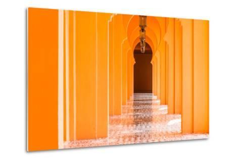 Architecture Morocco Style - Vintage Effect Pictures-Stockforlife-Metal Print