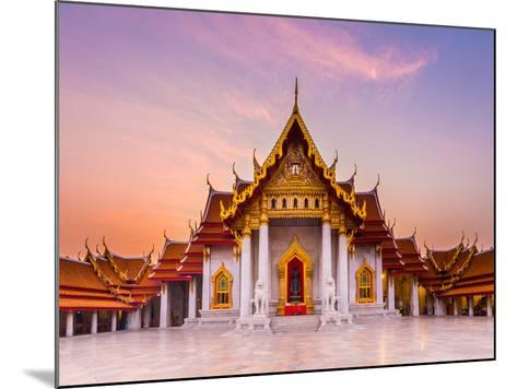 The Famous Marble Temple Benchamabophit from Bangkok, Thailand- Pumidol-Mounted Photographic Print