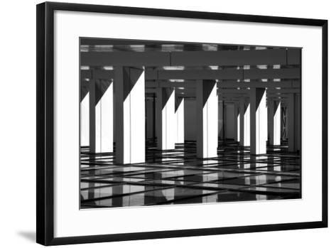Modern Abstract in Architecture-Protasov AN-Framed Art Print