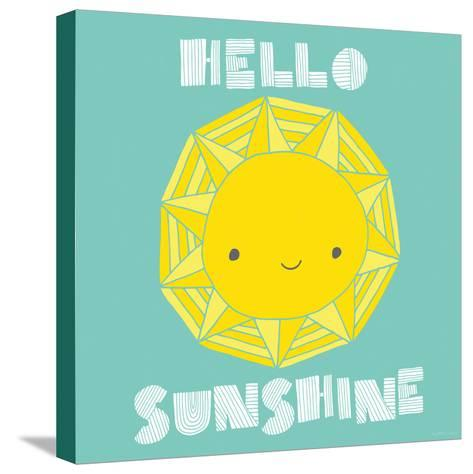 Hello Sunshine-Heather Rosas-Stretched Canvas Print