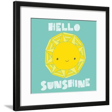 Hello Sunshine-Heather Rosas-Framed Art Print