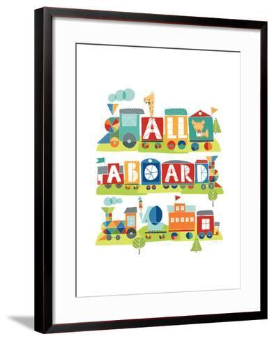 All Aboard Safari-Heather Rosas-Framed Art Print