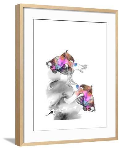 Forever Fish-Nina Dogmetchi-Framed Art Print