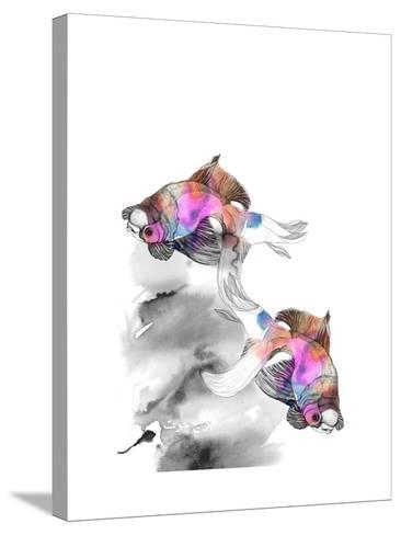 Forever Fish-Nina Dogmetchi-Stretched Canvas Print