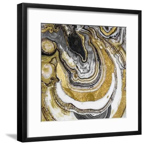 Stone Prose-Color Bakery-Framed Art Print