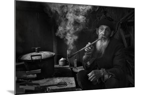Man And Pipe 1-Moises Levy-Mounted Photographic Print