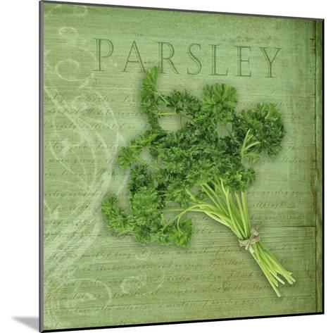 Classic Herbs Parsley-Cora Niele-Mounted Photographic Print