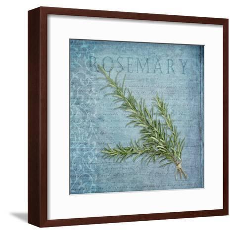 Classic Herbs Rosemary-Cora Niele-Framed Art Print