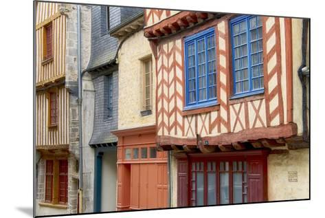 Historic Houses Of Vitre?-Cora Niele-Mounted Photographic Print