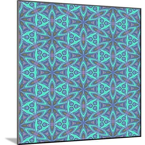Stained Glass Pattern-Cora Niele-Mounted Photographic Print