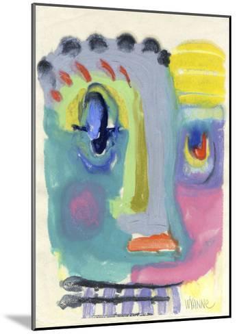 Blah Blah Blah-Wyanne-Mounted Giclee Print