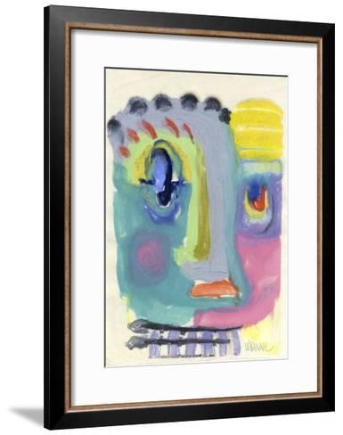 Blah Blah Blah-Wyanne-Framed Art Print
