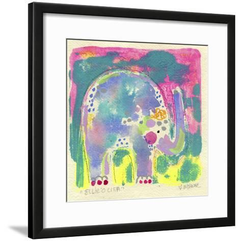 Ellie'O Lisa-Wyanne-Framed Art Print