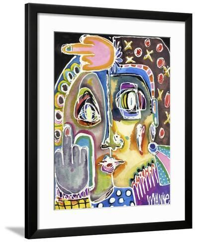 Double Fuck This Shit-Wyanne-Framed Art Print