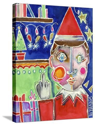 Elf the Shelf-Wyanne-Stretched Canvas Print