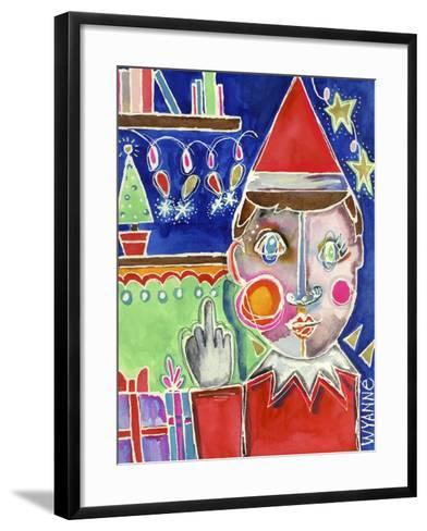 Elf the Shelf-Wyanne-Framed Art Print