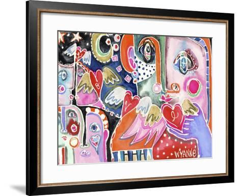Love from Far and Wide-Wyanne-Framed Art Print