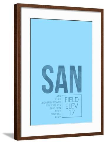 SAN ATC-08 Left-Framed Art Print