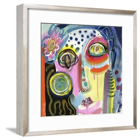 Pull Yourself Up by Your Bootstraps-Wyanne-Framed Art Print