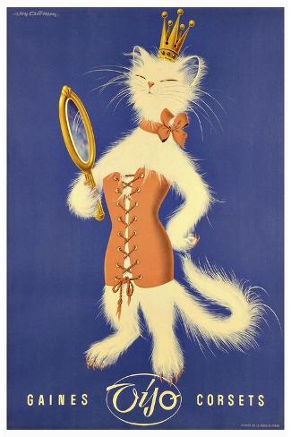 Fashion 024-Vintage Lavoie-Stretched Canvas Print