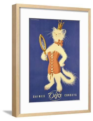 Fashion 024-Vintage Lavoie-Framed Art Print
