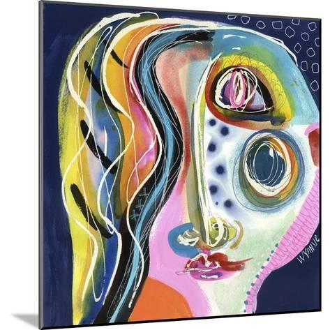 She Surprised Herself-Wyanne-Mounted Giclee Print