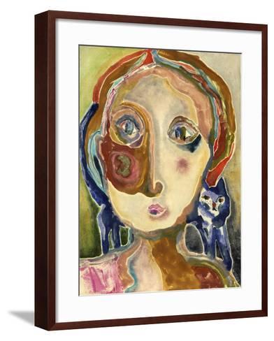 Shoulder Hug-Wyanne-Framed Art Print