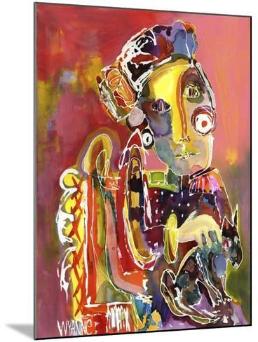 She Waits For No One-Wyanne-Mounted Giclee Print
