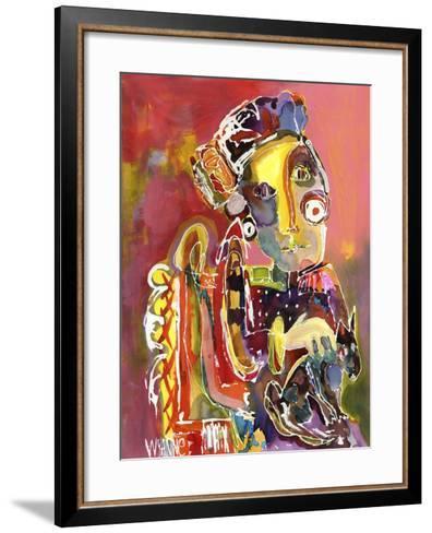 She Waits For No One-Wyanne-Framed Art Print