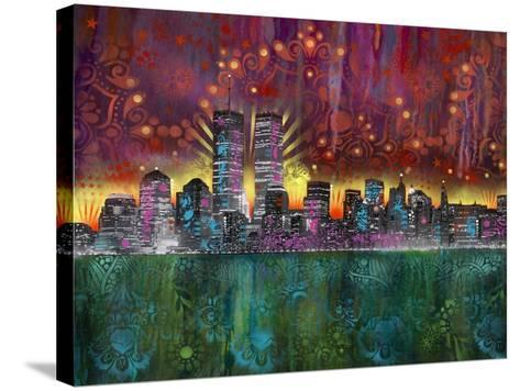 Skyline-Dean Russo- Exclusive-Stretched Canvas Print