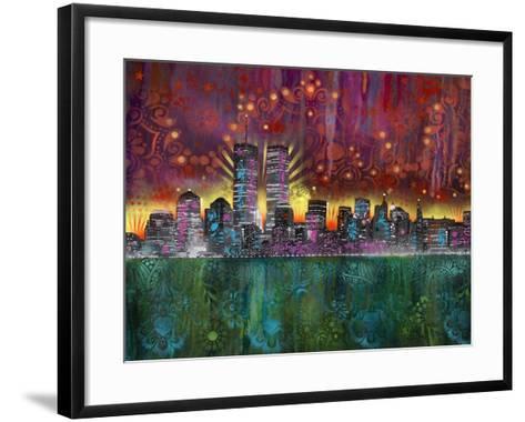 Skyline-Dean Russo- Exclusive-Framed Art Print