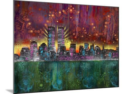 Skyline-Dean Russo- Exclusive-Mounted Giclee Print