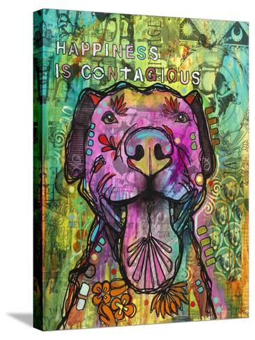 Happiness is Contagious-Dean Russo- Exclusive-Stretched Canvas Print